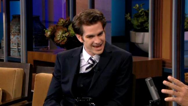 Andrew Garfield Tonight Show H - 2012