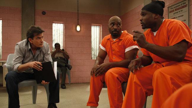 Anger Management Charlie Sheen Jail - H 2012