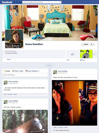 Awkward Facebook Page - P 2012