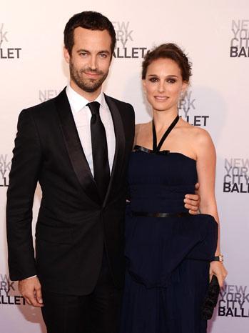 Benjamin Millepied and Natalie Portman - P 2012
