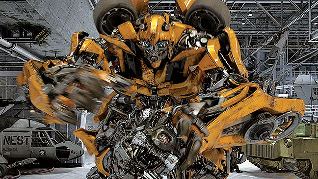 2012-22 BIZ Rides Transformers Bumblebee H