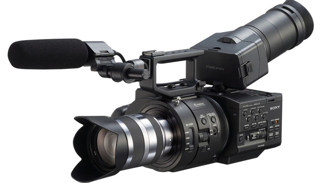 Sony NEX-FS700U Full-HD camcorder