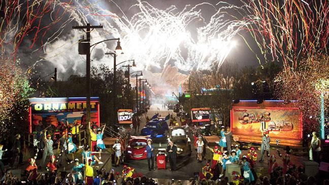 Cars Land Opening Night - H 2012