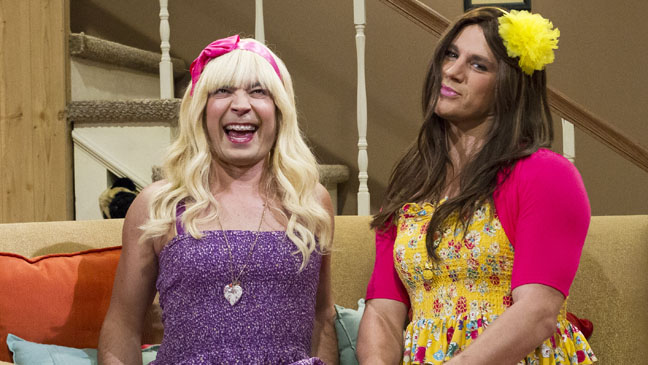 Late Night with Jimmy Fallon Channing Tatum Drag - H 2012