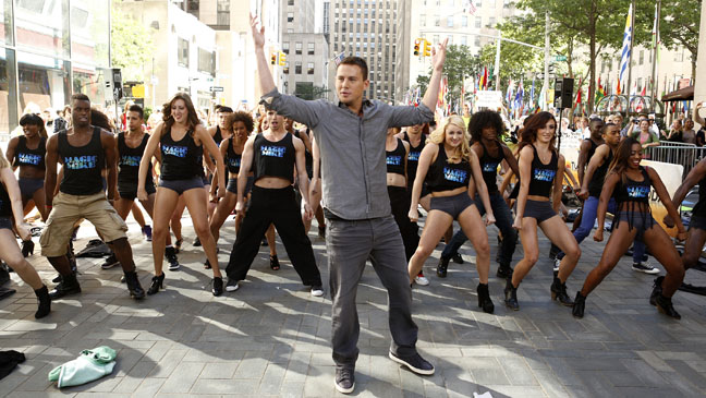 Channing Tatum Today Show - H 2012