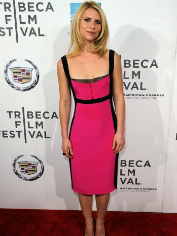 Claire Danes Narciso Rodriguez Dress P-2012