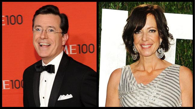 Stephen Colbert Alison Janney - H 2012