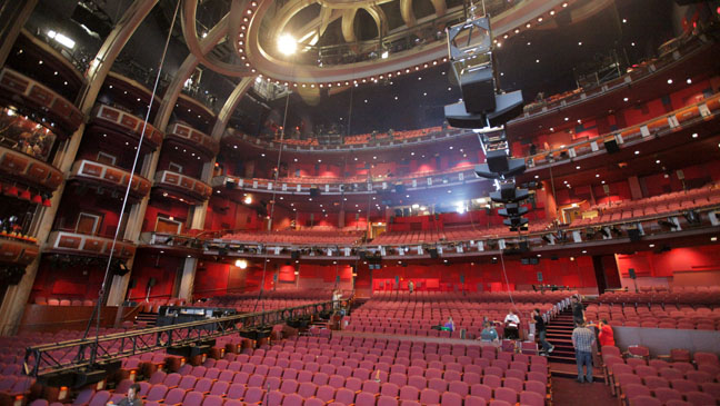 Dolby Theater Audio Rig - H 2012
