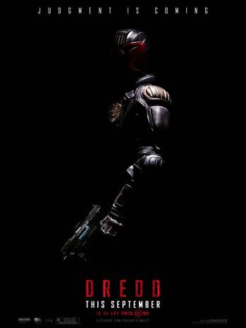 Dredd Poster - P 2012