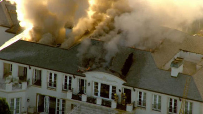 Real Housewives of Beverly Hills Fire H 2012