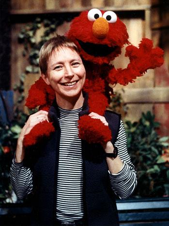 Judy Freudberg with Elmo - P 2012