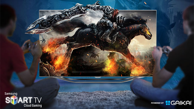 Gaikai Samsung Smart TV - H 2012