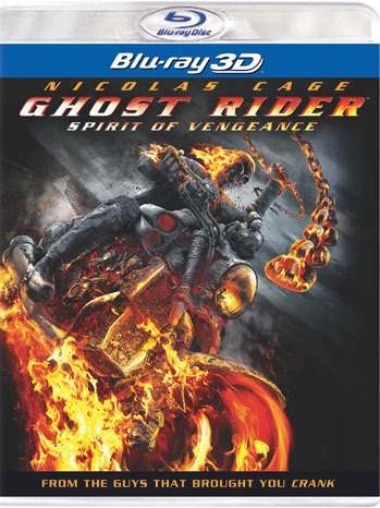 Ghost Rider Vengeance Blu-Ray Cover - P 2012