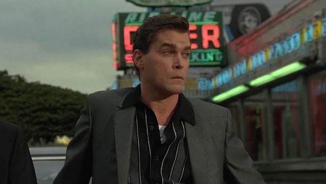 Ray Liotta as Henry Hill in 'Goodfellas' - H 2012