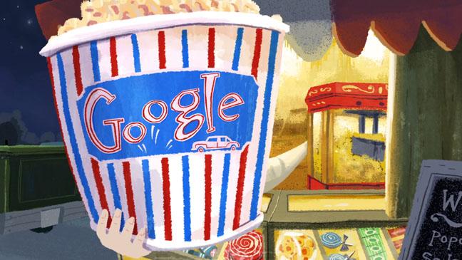 Google Doodle Image - H 2012