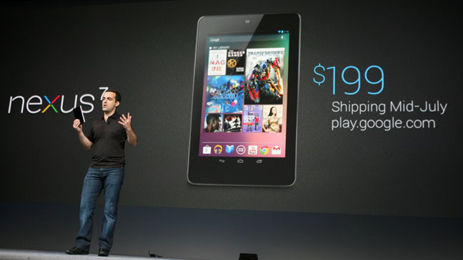 Google Nexus 7 Tablet - H 2012