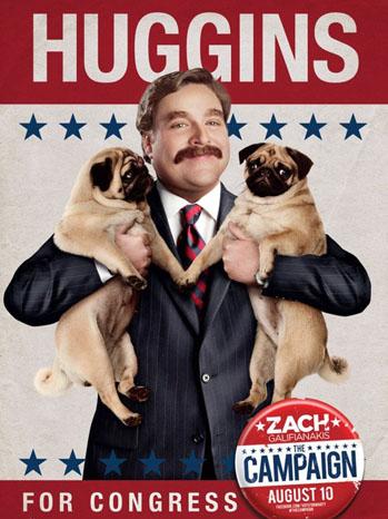 Campaign Movie Poster Huggins - P 2012