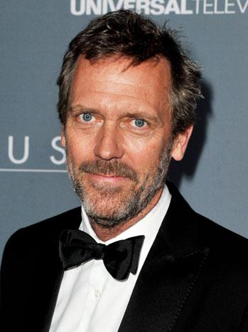 Hugh Laurie House Wrap Party - P 2012