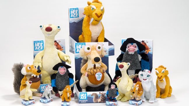 Ice Age Toys - H 2012