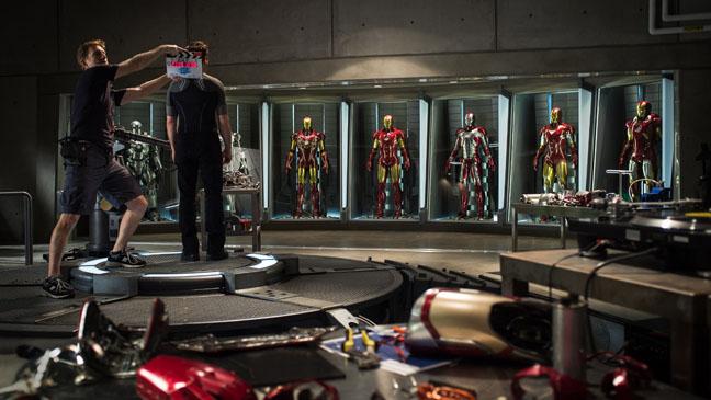 Ironman 3 Production Still - H 2012
