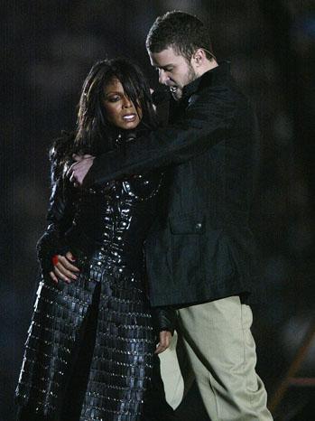 Janet Jackson Justin Timberlake Superbowl 2004 - P 2012