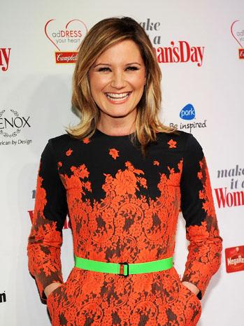 Jennifer Nettles Red Dress Awards - P 2012