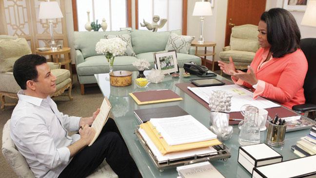 2012-22 FEA Late Night Jimmy Kimmel Oprah Winfrey H
