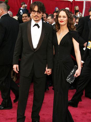Oscars Johnny Depp Vanessa Paradis 2008 - P 2012