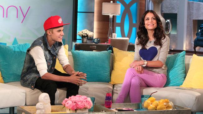 Justin Bieber Bethenny Frankel - H 2012