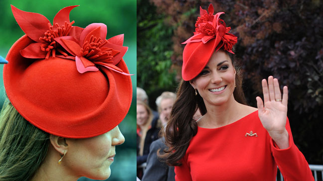Kate Middleton Jubilee hat