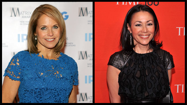 Katie Couric Ann Curry - H 2012