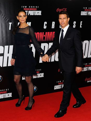 Tom Cruise Katie Holmes Mission Impossible - P 2012