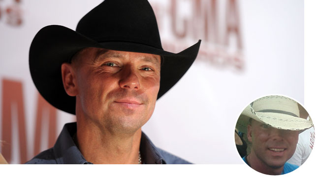 Kenny Chesney Lookalike Bubble - H 2012