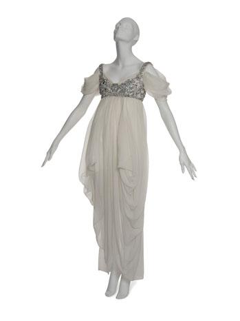 Lady Gaga Alexander McQueen Dress Auction - P 2012