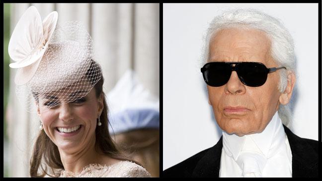 Kate Middleton Karl Lagerfeld Split - H 2012