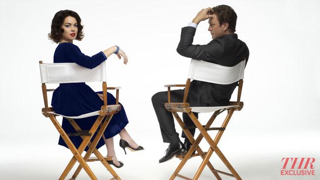 Liz & Dick Lindsay Lohan Director's Chairs Portrait - H 2012