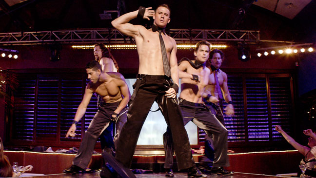 Magic Mike Cast on Stage Dancing - H 2012