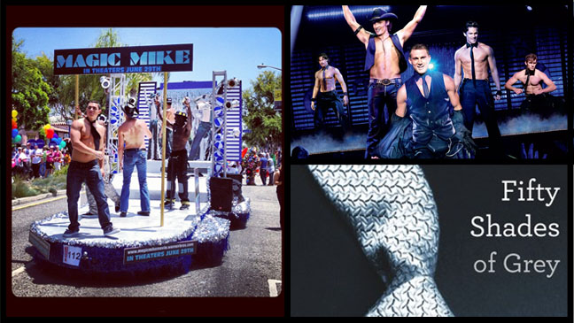 Magic Mike Float Fifty Shades of Grey - H 2012