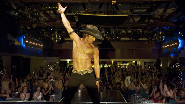 Magic Mike Matthew McConaughey Stripping - H 2012