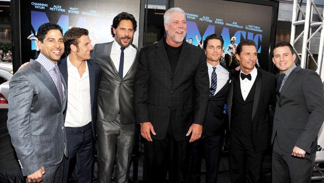 Magic Mike Premiere Cast - H 2012