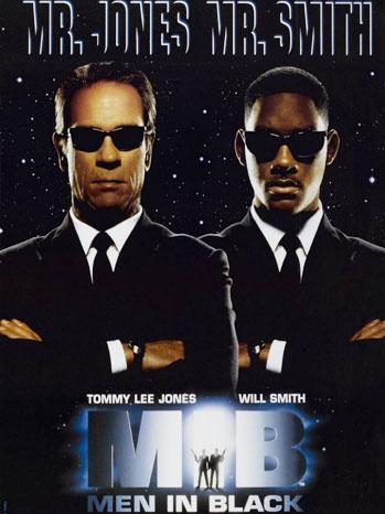 Men in Black Poster 1997 - P 2012