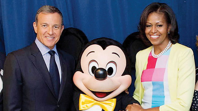 2012-21 REP Robert Iger Michelle Obama H