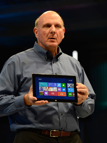 Microsoft Surface Steve Ballmer - P 2012