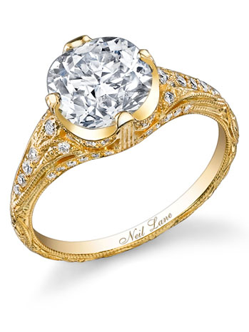 Miley Cyrus Engagement Ring - H 2012