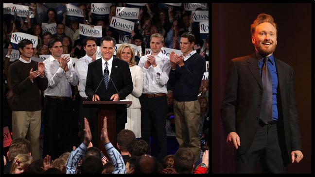 Mitt Romney Sons Conan O'Brien - H 2012