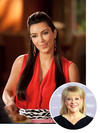 Kim Kardashian Nancy Grace Inset - P 2012