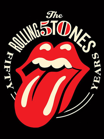 New Rolling Stones 50 Logo - P 2012
