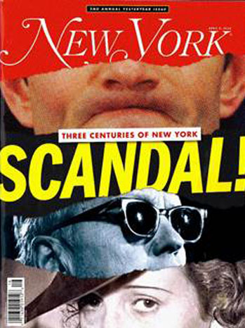 New York Magazine Scandal Cover - P 2012