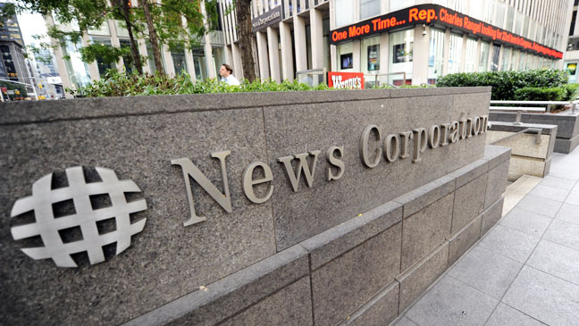 News Corp generic image - H 2012