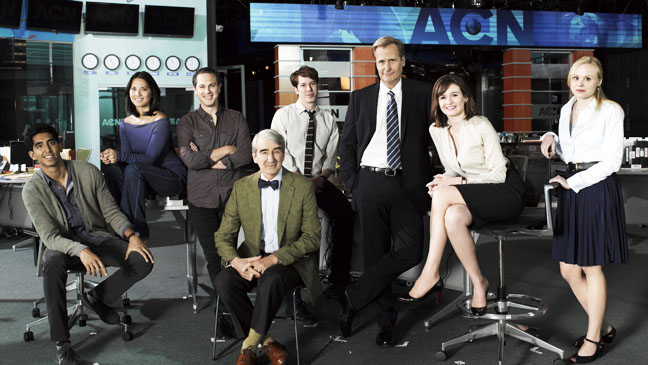 Newsroom Cast - H 2012
